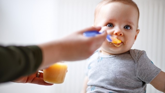Babynahrung Diät